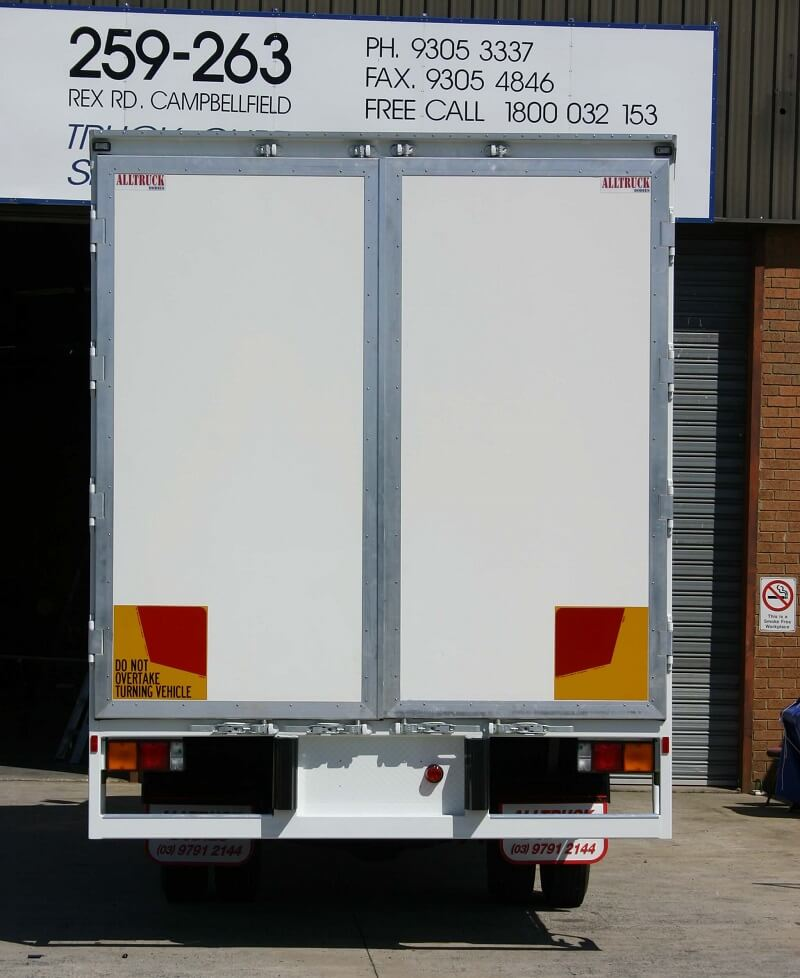 Polyweld Truck Media Doors white