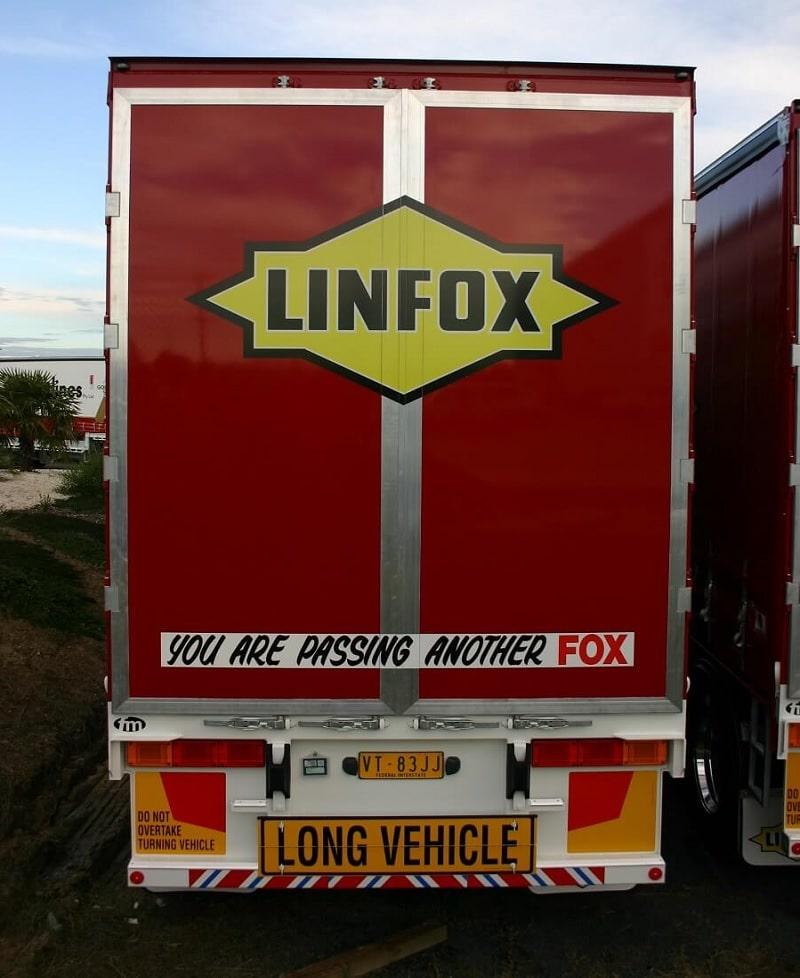 Polyweld Truck Media Doors linfox